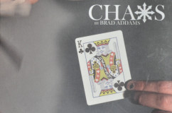 The Front Cover Of Chaos By Brad Addams (DVD Cover)